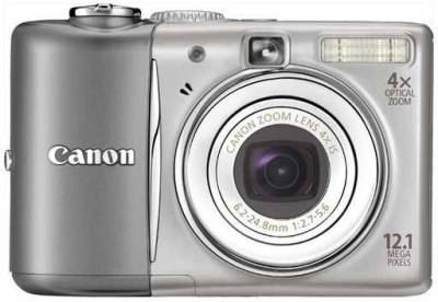 Фотоаппарат Canon PowerShot A1100 IS (Silver) 3444B002