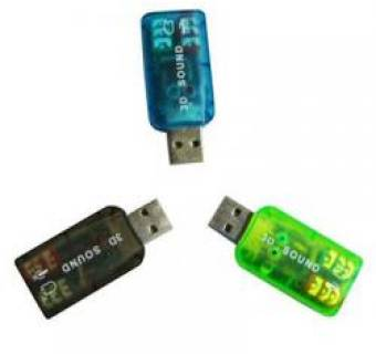 Atcom Контроллер USB-sound card (5.1) 3D sound 7807