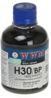 Чернила WWM HP C8767/C8765/C9362 Black Pigmented H30BP