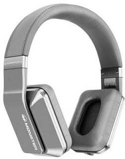 Наушники Monster Inspiration Active Noise Canceling Over-Ear Headphones (Silver) MNS-128888-00