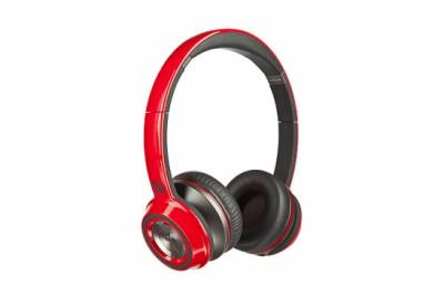 Наушники Monster NCredible NTune On-Ear Headphones - Cherry Red MNS-128488-00