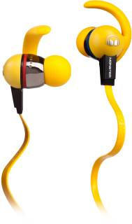 Наушники Monster iSport LiveStrong with ControlTalk (Yellow) MNS-129693-00