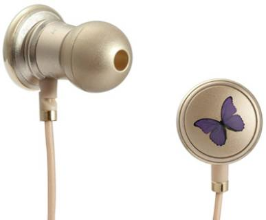 Наушники Monster Butterfly by Vivienne Tam with ControlTalk In-Ear Headphones MNS-129501-00