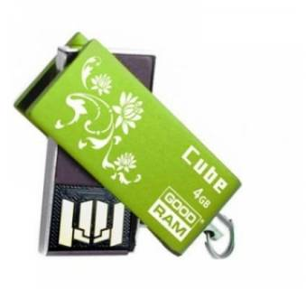 Флеш-память USB Goodram Cube Spring Edition Green PD4GH2GRCUGR9+S