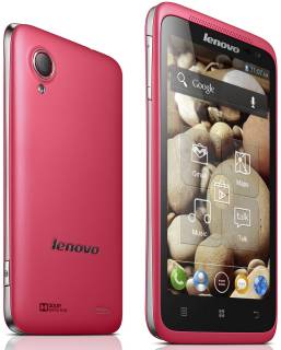 Смартфон Lenovo IdeaPhone P700i Red