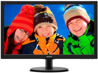 Монитор Philips 223V5LSB/00 Black