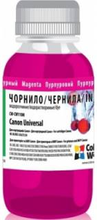 Чернила ColorWay Canon Universal 100мл Magenta CW-CW110M01