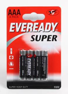Батарейка Eveready Super HD AAA/R3 FSB4 227550