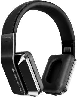 Наушники Monster Inspiration  Noise Canceling Over-Ear Headphones (Black) MNS-128917-00