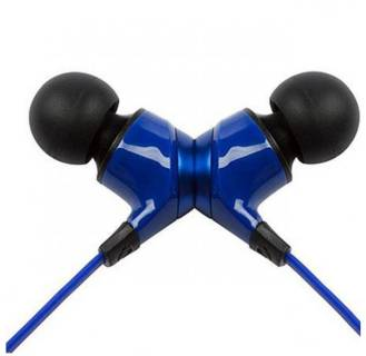 Наушники Monster MobileTalk In-Ear Headphones Noise Isolating - Cobalt Blue MNS-133301-00