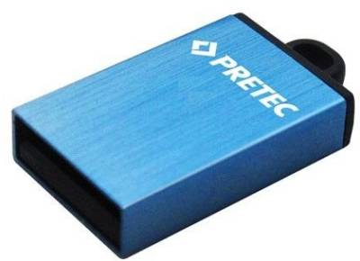 Флеш-память USB Pretec 16Gb Elite Blue (USB 2.0) E2T16G-1BU