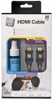Кабель Monster HDMI 700HD and ScreenClean Kit - 1.5 m. MNO-140685-00