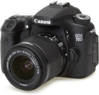 Фотоаппарат Canon EOS 70D + объектив 18-55 IS STM c Wi-Fi 8469B035