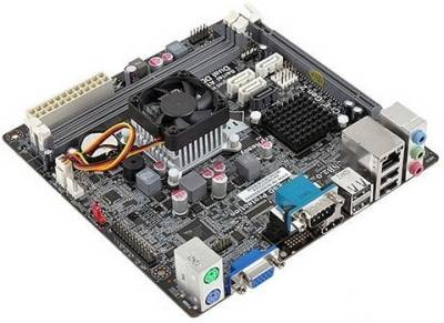 Материнская плата Elitegroup miniITX NM70 Celeron 847 (1.1G) NM70-I2