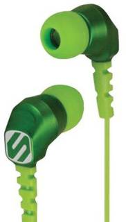 Наушники SCOSCHE HP200G Noise Isolation Green