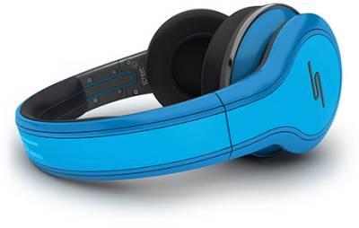 Наушники SMS STREET by 50 Wired Over-Ear Headphones - Blue SMS-WD-BLU