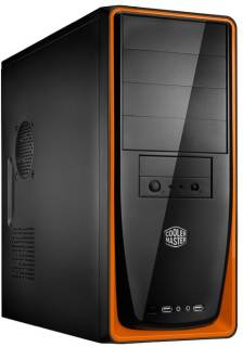 Корпус CoolerMaster Elite 310 Black/Orange (RC-310-OKN1-GP)