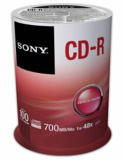 Диск Sony 100CDQ80SP