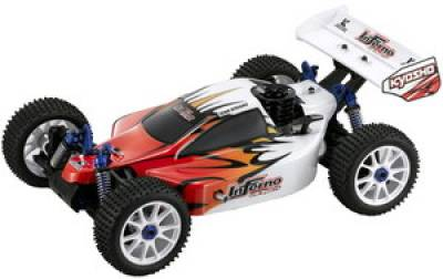 Модель Kyosho Автомобили Inferno Buggy US Sports 2 GP 4WD 1:8 31277SG-B