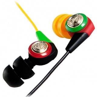 Наушники Aerial7 Headphones Neo Dark Rasta Ear Bud