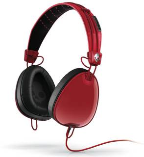 Наушники SkullCandy Aviator Red/Black w/mic3 S6AVDM-232