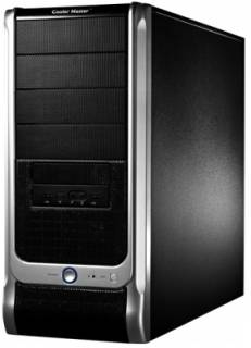Корпус CoolerMaster Elite 330U Black/Silver RC-330U-KKR460