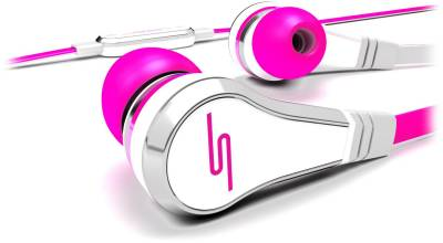 Наушники SMS Audio STREET by 50 Wired Earbuds - Pink SMS-EB-PNK