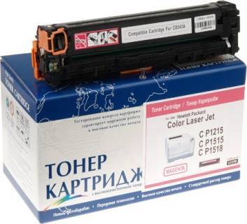 Картридж WWM Картридж WWM для HP CP1215/CP1515 Magenta (LC37MN)