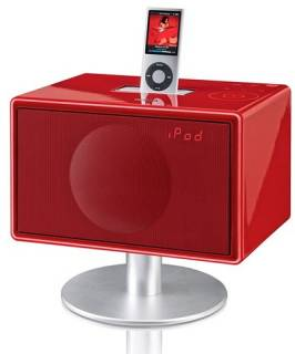 Акустическая система Geneva Sound System model S (clock radio) - Red color 875419002224
