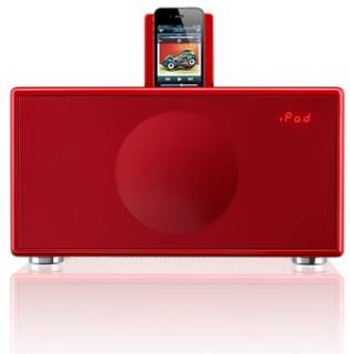 Акустическая система Geneva Sound System Model M (clock radio) - Red color (RU) 875419002644