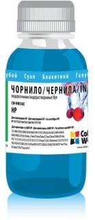 Чернила ColorWay HP No134/135/136/141/177 (100мл) Cyan