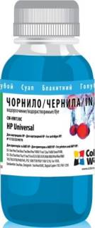 Чернила ColorWay HP Universal 17/25/49/78 100мл Cyan