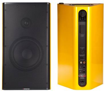 Акустическая система Monster Clarity HD Monitor Speakers  (Yellow) MNS-132733-00