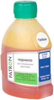 Чернила Patron EPSON T0814 (Photo R270) YELLOW I-PN-ET0814-180-Y