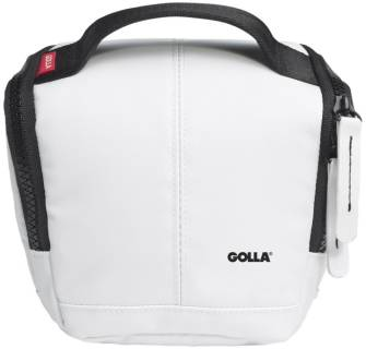 Golla CAM BAG S G1360 Barry PVC/polyester (white)
