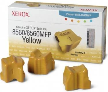 Картридж Xerox PH8560 Yellow 108R00766