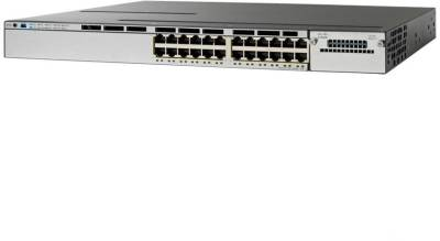 Сетевой коммутатор Cisco Cisco Catalyst 3850 24 Port PoE IP Base WS-C3850-24P-S