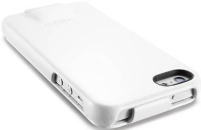 SGP Leather Case Argos White for Apple iPhone 5 SGP09599