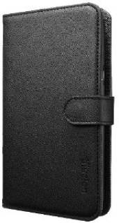 SGP Чехол для Galaxy Note 2 Leather Wallet Case illuzion (Zen Black) SGP09624