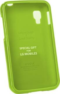 VOIA LG Optimus L4II Dual - Jelly Case (Lime)