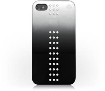 Bling My Thing Сваровськи для iPhone 4S/4 Metallic Mirror Stripe Crystal BMT-11-03-5-01
