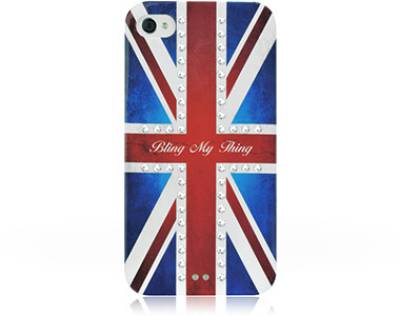Bling My Thing Сваровськи для iPhone 4S/4 Retro Union Jack Crystal BMT-11-21-12-01