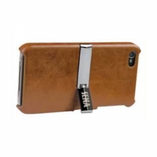 Sena iPhone 4 Vista Case - Tan/Chrome SEN-158413