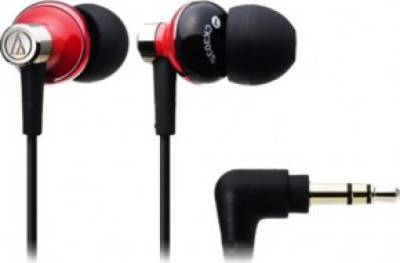 Наушники Audio-Technica Inner ear type headphones - red ATH-CK303MRD