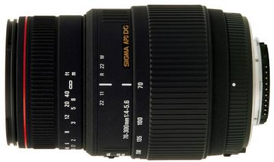 Объектив Sigma 70-300 mm f4-5.6 APO DG Macro for Sony