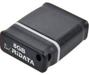 Флеш-память USB Ridata TINY 8GB Black/Grey
