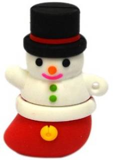 Флеш-память USB Patriot USB Flash Patriot Holiday Snowman 8Gb USB PSF8GUSBHDSM