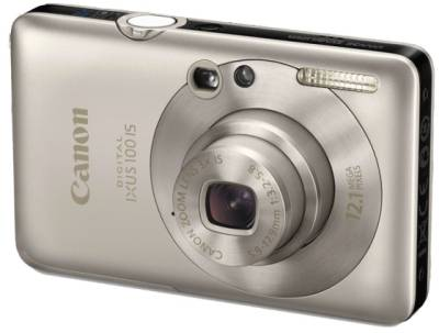 Фотоаппарат Canon IXUS 100 IS (Silver) 3592B001