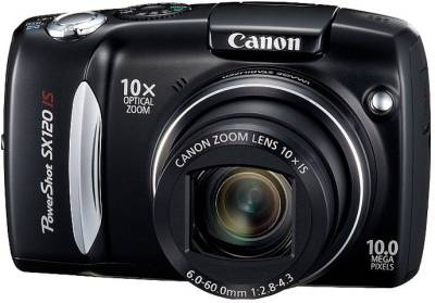 Фотоаппарат Canon PowerShot SX120 IS (Black) 3634B002