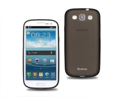 Yoobao Glow Protect case for Sams I9300 Galaxy S3,black